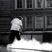 Picture of steam that can kill bed bugs fairly easily