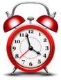 Clock image for schedule flea combing