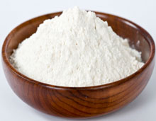 Picture of a bowl of diatomaceous earth