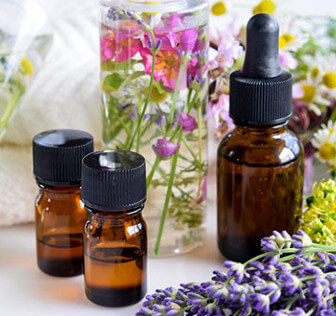 Picture of essential oils that can keep fleas away